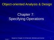Chapter 7 specifying Operation [upd]