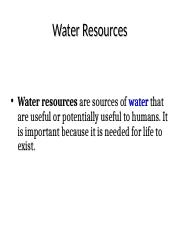 FINAL - Lecture 5 - WasteWater (LECTURE).ppt