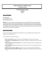 Rodgers PSY 100 Syllabus Summer20 .docx