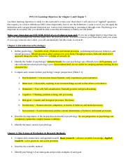 Psy learning objectives.docx