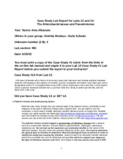Case Study Lab Report for Labs 12 and 13.docx