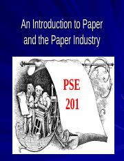 an introduction to the paper industry Free hospitality industry papers, essays exploring the career in lodging industry - introduction the purpose of this paper is to explore a career in the.