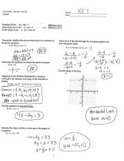 Review Test 2 Answer Key MAT1033