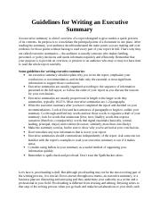 Guidelines for Writing an Executive Summary.docx