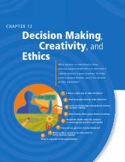 ch12 Decision making, creativity and ethics.pdf