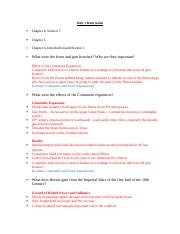 Topic 7 Study Guide