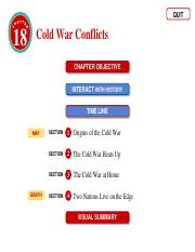 Doc 98 Cold War Conflicts.ppt