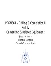 4-Cementing