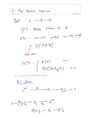 MATH 80220 Fall 2013 Spectral Sequence Lecture Notes