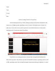 Order #68771 Atomic Learning Tutorial on PowerPoint.docx