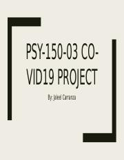 Jaleel Carranza- Covid-19 Project.pptx