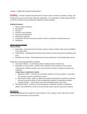 Staffing management for students copy only