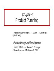 Ch4 - Product Planning.ppt