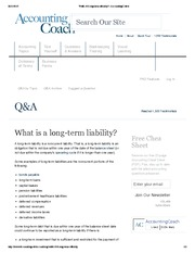 What is a long-term liability_ _ AccountingCoach