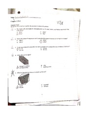 Chapter 11 Test on Length