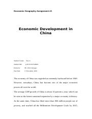 Economic Geography Assignment2.docx