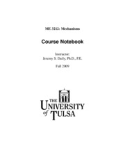 MechanismsCourseNotebook