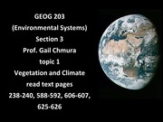 Geog 203 Lecture 18