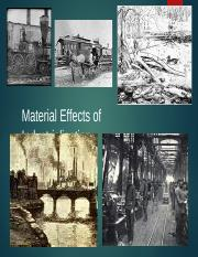 Student_Effects of Industrialization