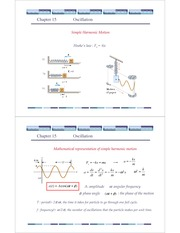General Physics(ppt) Ch 15