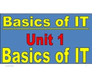 Basic of IT Unit1
