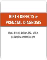 6-birth defects and prenatal diagnosis.ppt
