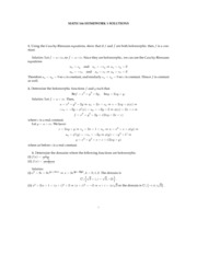 HW solutions 2