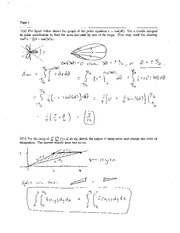 Exam 2 Solution Fall 2009 on Calculus and Analytic Geometry IV