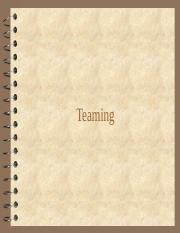 Teaming (1).ppt