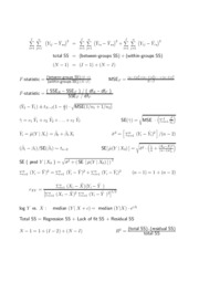 Formulas for the 2009 final exam