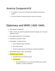 diplomacy and ww2