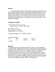 Chemistry 107 Lab Report 11