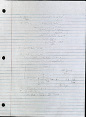 Time Equations Notes