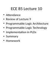 ECE 85 Lecture 10 Implementation in PLDs.pptx