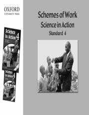 science schemes class 4