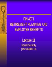 Lecture 11 - Social Security (1).pptx