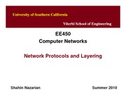 EE450-U2-Protocols&Layering_Lecture-Nazarian-Summer10