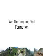 Weathering and Soil Formation (lecture 5).pptx