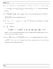 MATH 1271 Spring 2013 Homework Assingment 11.5 Solutions