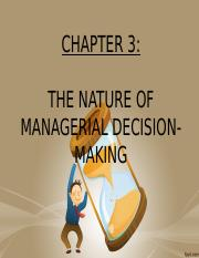 chapter 1.3-Decision making