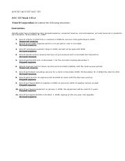 ACC557 ACC 557 Homework Chapters Ch. 3 E3-4.doc