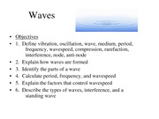 Waves-Notes