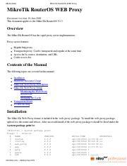 40295795-MikroTik-RouterOS-WEB-Proxy pdf - MikroTik RouterOS