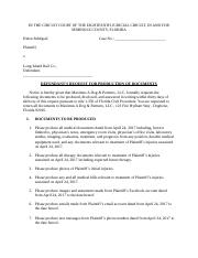 Request for production of documents 5