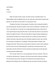 True Self Essay