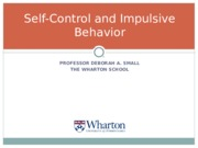 Self-Control 2015.ppt