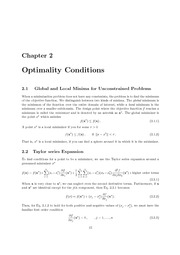 OptimalityConditions