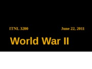0622 World War II