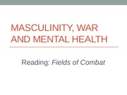 War, Stress, masculinity 4 7 and 9 2015 (1)