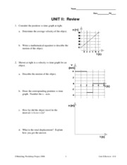 Unit 5 worksheet 4 - k = 0 3 A 100 N force is applied to a 50 kg ...